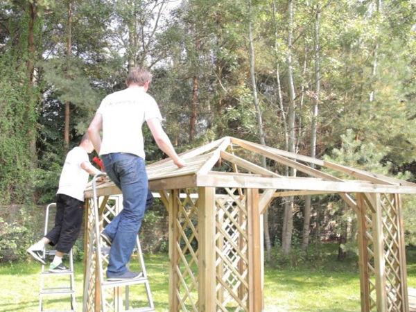 Altanki Ogrodowe Drewniane Do Samodzielnego Montażu
