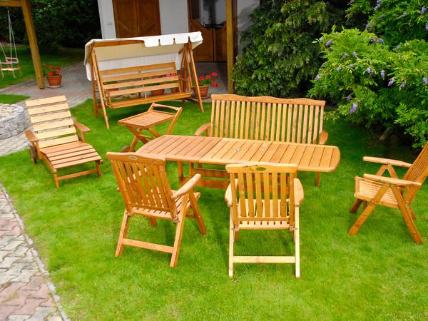 Drewno W Ogrodzie Mała Architektura Meble Tarasy