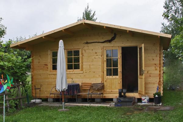 Aktualne Gotowe domki letniskowe drewniane do samodzielnego montażu FT34