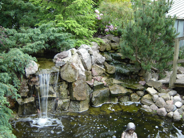 Kaskady Wodne W Ogrodzie