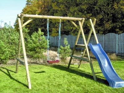 ogrodowy plac zabaw dla dzieci jak urz dzi i wyposa y. Black Bedroom Furniture Sets. Home Design Ideas