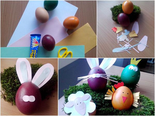 Ozdoby Wielkanocne Z Papieru Zrób To Sam Dla Dzieci